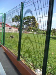 Steel Security Fencing Trinidad and Tobago